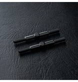 MST Aluminium Reinforced Turnbuckle φ3mm x 36mm (2pcs) / Color: Black