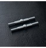 MST Aluminium Reinforced Turnbuckle φ3mm x 36mm (2pcs) / Color: Silver