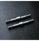 MST Aluminium Reinforced Turnbuckle φ3mm x 44mm (2pcs) / Color: Silver