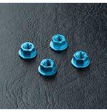 MST Aluminium Wheel Nut (4pcs) / Color: Blue