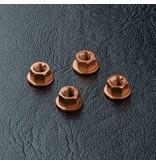 MST Aluminium Wheel Nut (4pcs) / Color: Copper