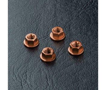 MST Alum. Wheel Nut (4) / Copper