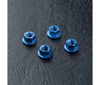 MST Alum. Wheel Nut (4) / Dark Blue