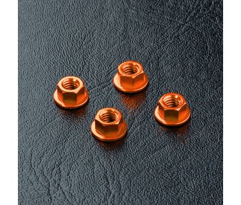 MST Alum. Wheel Nut (4) / Orange