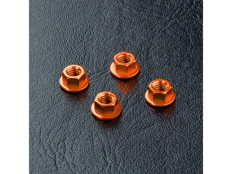 MST Aluminium Wheel Nut (4pcs) / Color: Orange
