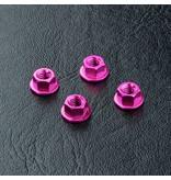 MST Aluminium Wheel Nut (4pcs) / Color: Pink