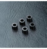 MST Aluminium Spacer φ3.0mm x φ5.5mm x 4.0mm (5pcs) / Color: Black