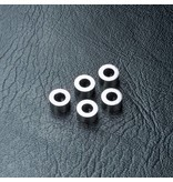 MST Aluminium Spacer φ3.0mm x φ5.5mm x 3.0mm (5pcs) / Color: Silver