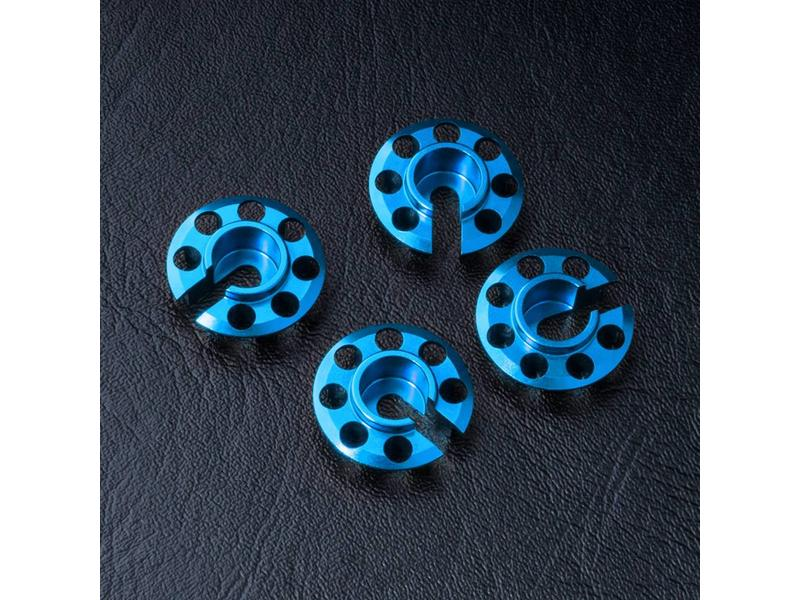 MST Aluminium Damper Retainer - Lower Type (4pcs) / Color: Blue