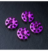 MST Aluminium Damper Retainer - Lower Type (4pcs) / Color: Purple