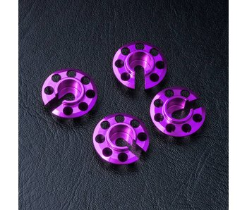 MST Alum. Damper Retainer - Lower Type (4) / Purple