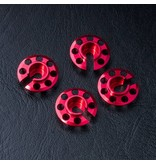 MST Aluminium Damper Retainer - Lower Type (4pcs) / Color: Red