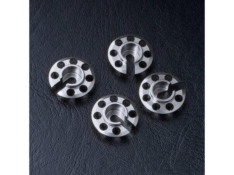 MST Aluminium Damper Retainer - Lower Type (4pcs) / Color: Silver