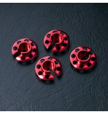 MST Aluminium Damper Retainer (4pcs) / Color: Red