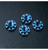 MST Aluminium Damper Retainer - Small (4pcs) / Color: Blue