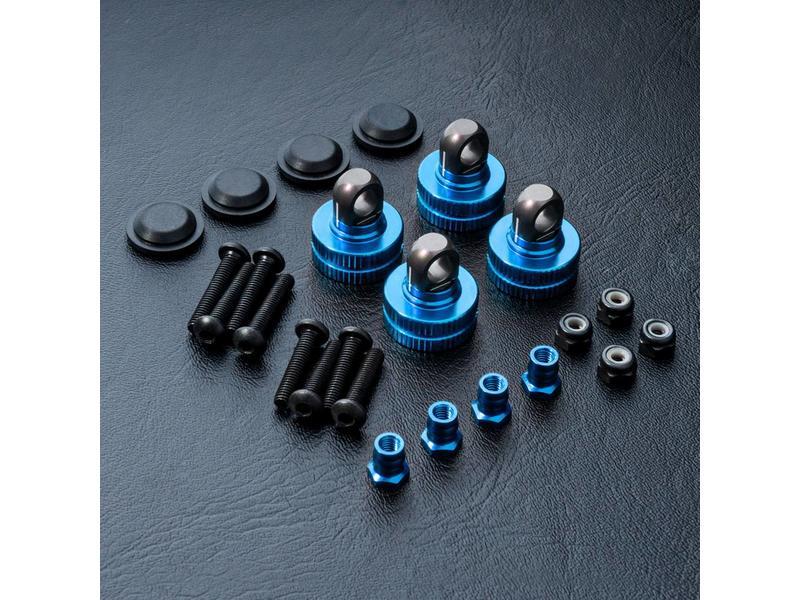 MST Adjustable Damper Caps (4pcs) / Color: Blue