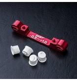 MST Aluminium Adjustable Suspension Mount -0.5 ~ +1.0 / Color: Red