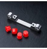 MST Aluminium Adjustable Suspension Mount -0.5 ~ +1.0 / Color: Silver