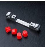 MST Aluminium Adjustable Suspension Mount +1.5 ~ +3.0 / Color: Silver