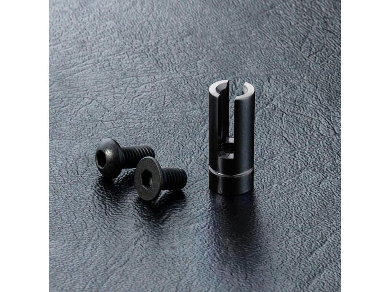 MST Aluminium Antenna Pipe Mount / Color: Black
