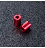 MST Aluminium Spacer φ3.0mm x φ5.5mm x 7.0mm (2pcs) / Color: Red