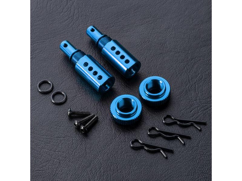 MST Aluminium Adjustable Body Post (2pcs) / Color: Blue