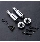 MST Aluminium Adjustable Body Post (2pcs) / Color: Silver