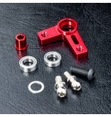 MST Aluminium Arm Set / Color: Red