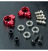 MST Aluminium Arm Set - Small (2pcs) / Color: Red