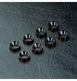 MST Aluminium Countersunk Spacer M3 (8pcs) / Color: Black