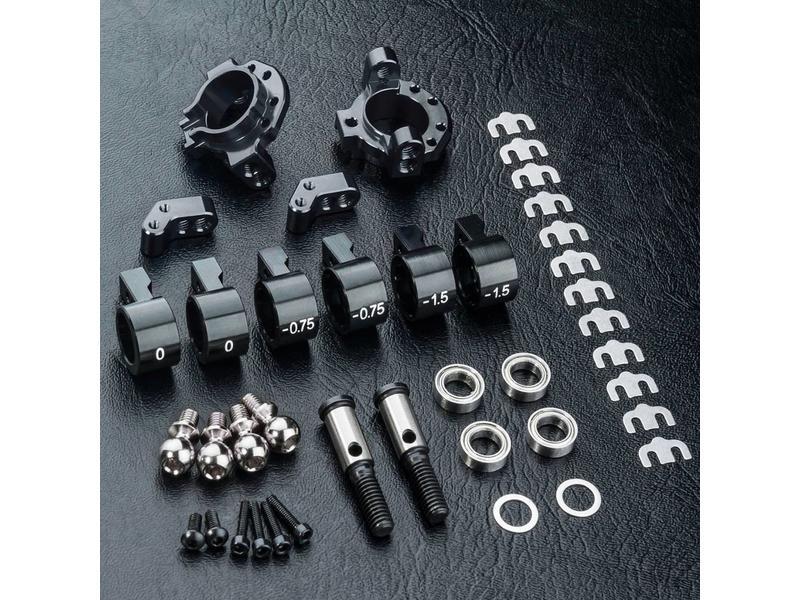 MST ATK Aluminium Upright Set - 2WD / Color: Black