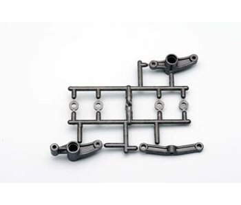 Yokomo Graphite Steering Bell Crank Set - DISCONTINUED