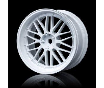 MST LM Wheel Set - Adj. Offset (4) / White-White