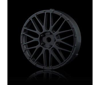MST LM Wheel Disk (2) / Flat Black - DISCONTINUED