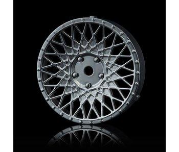 MST 501 Wheel Disk (2) / Flat Silver
