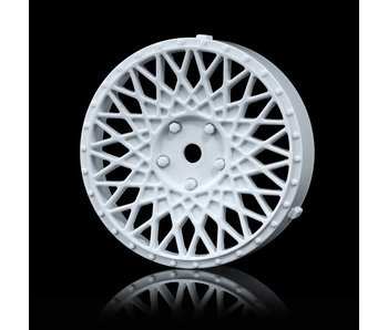 MST 501 Wheel Disk (2) / White - DISCONTINUED
