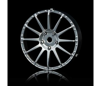 MST 21 Wheel Disk (2) / Flat Silver - DISCONTINUED