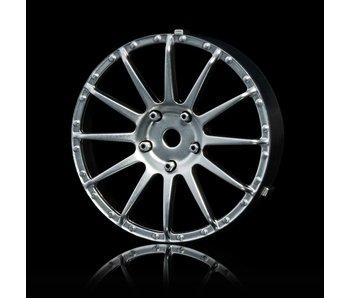 MST 21 Wheel Disk (2) / Flat Silver