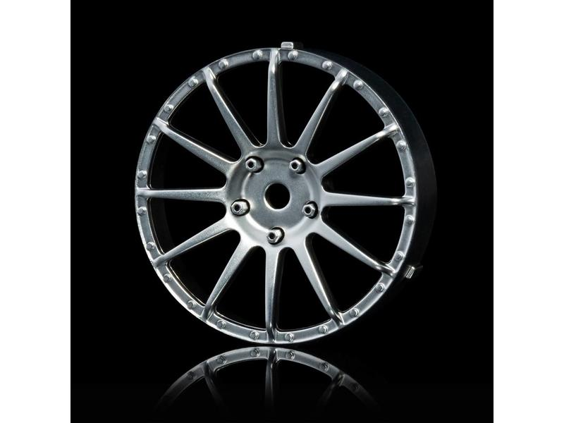 MST 21 Wheel Disk (2pcs) / Color: Flat Silver - DISCONTINUED