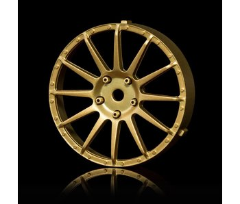 MST 21 Wheel Disk (2) / Gold - DISCONTINUED