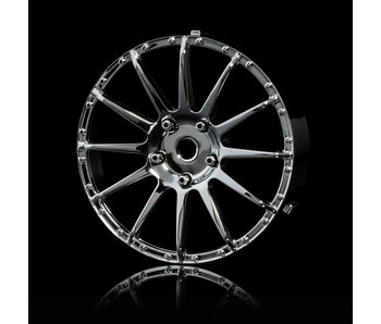 MST 21 Wheel Disk (2) / Silver - DISCONTINUED