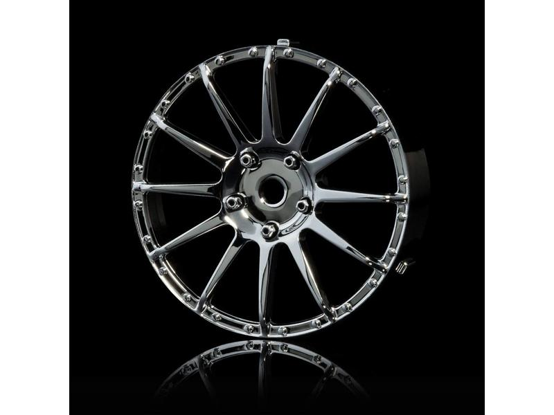 MST 21 Wheel Disk (2pcs) / Color: Silver (Chrome) - DISCONTINUED