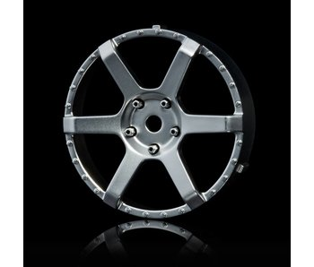 MST 106 Wheel Disk (2) / Flat Silver - DISCONTINUED