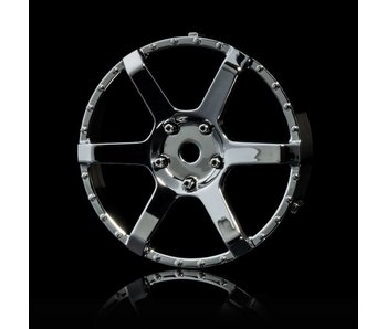 MST 106 Wheel Disk (2) / Silver - DISCONTINUED