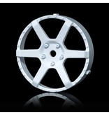 MST 106 Wheel Disk (2pcs) / Color: White - DISCONTINUED