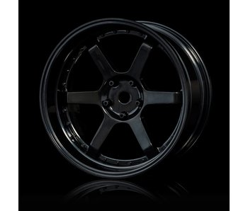 MST 106 Wheel Set - Adj. Offset (4) / Black-Black