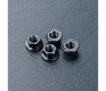 MST Wheel Nut M4 (4) / Black