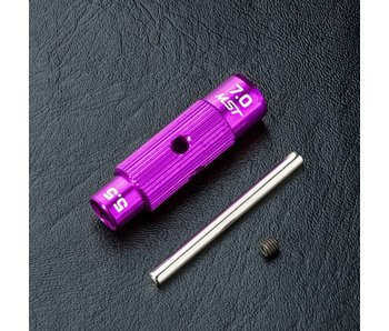 MST Alum. 5.5&7.0mm Wrench / Purple