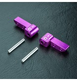 MST Aluminium HT Upper Arm C & D / Color: Purple