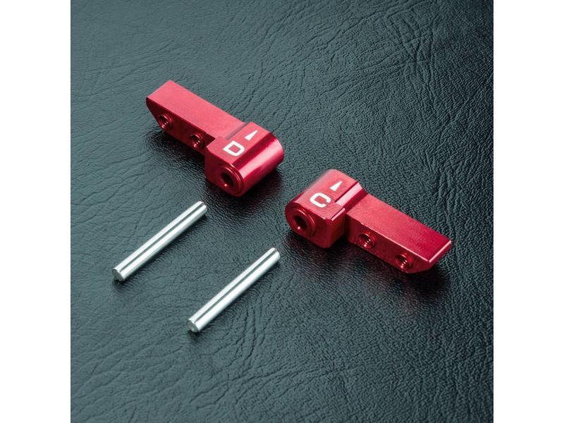 MST Aluminium HT Upper Arm C & D / Color: Red